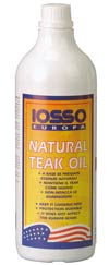 IOSSO Natural Teak Oil (520042)
